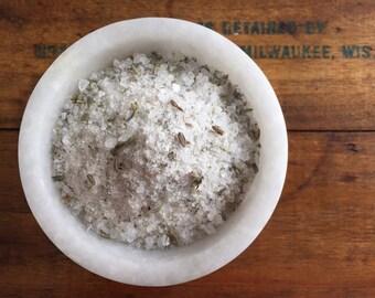 French Lavender Sea Salt, Lavender Cooking Salt, All Natural Gourmet Seasoning Salt, Flavored Salt, Cooking Gift, Cooking Salt