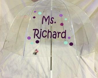 Personalized Umbrella