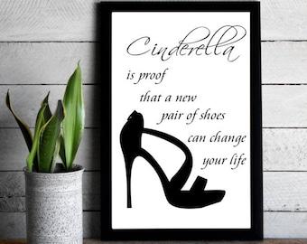 Cinerella Shoe Print