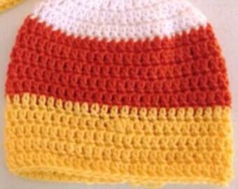 Fall Candy Corn Hat