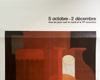 Poster for the exhibition Ozenfant