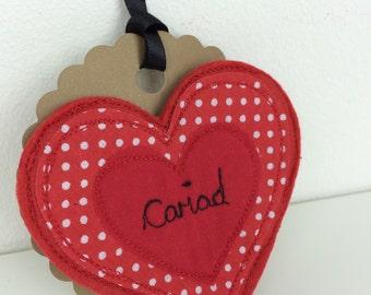 Valentines Day Brooch, Tlws Dydd Santes Dwynwen