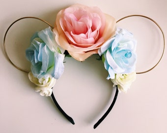 Made to Order: Blue & Pink Roses