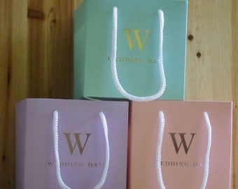 Wedding Day Favors Candy/Sweet/Lolly Cardboard Gift Bags (Set of 50)