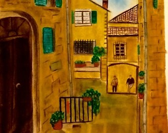 Tuscany back alley!
