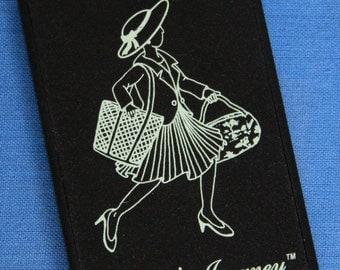 Vintage Isabella's Journey Pocket Purse Compact Mirror