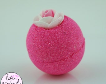 Butt Naked Bath Bomb; All Natural Aromatherapy Fun and Colorful Bath Bomb; 2.5oz 4oz or 7oz  Life Around 2 Angels