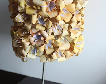 origami lily desk lamp