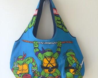 Handmade Shoulder Bag Inspired by Teenage Mutant Ninja Turtles