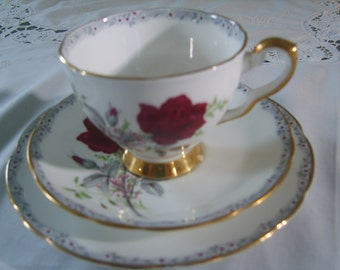 Royal Stafford Roses to Remember Plate