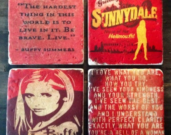 Buffy Summers Coaster or Decor Accent