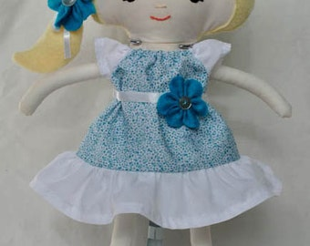 Turquoise Dress up Doll