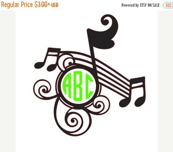 Case Design customize cell phone cases : Musical Note Monogram Decal,school label, Vinyl Decal, Name Decal, Car ...