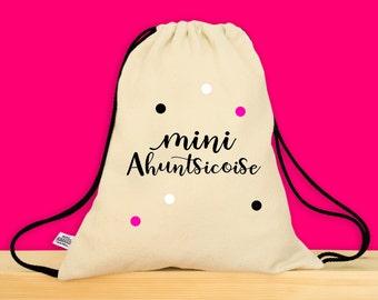 AHUNTSIC - Petit sac pour enfant - Parfait pour l'été ou pour l'école - Minie Ahuntsicoise