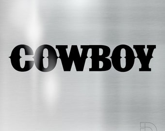 Cowboy - cut vinyl