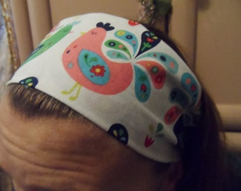 Chickens yoga workout headband