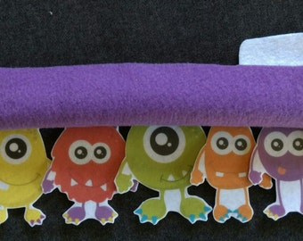 Monsters Under the Bed Felt Board Story // Flannel Board // Imagination // Children // Monsters // Bedtime