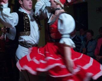 """Prague Photography, """"Czech Folk Dancers"""" Print, Affordable Wall Art, Prague Print, Travel Photography, Dancers Photography, Gift for Dancers"""