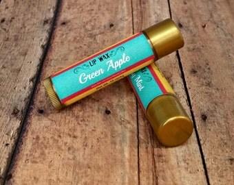 Flavored Blue Tinted Lip Balm, Lip Wax
