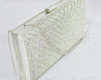 Crystal Bridal Clutch