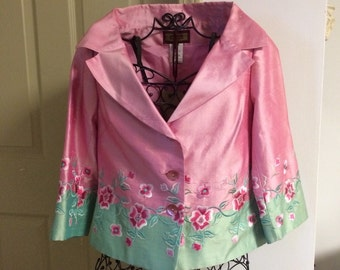 Silk Spring Jacket, size 36 or S/M