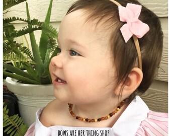 LITTLE LADY mini felt bow