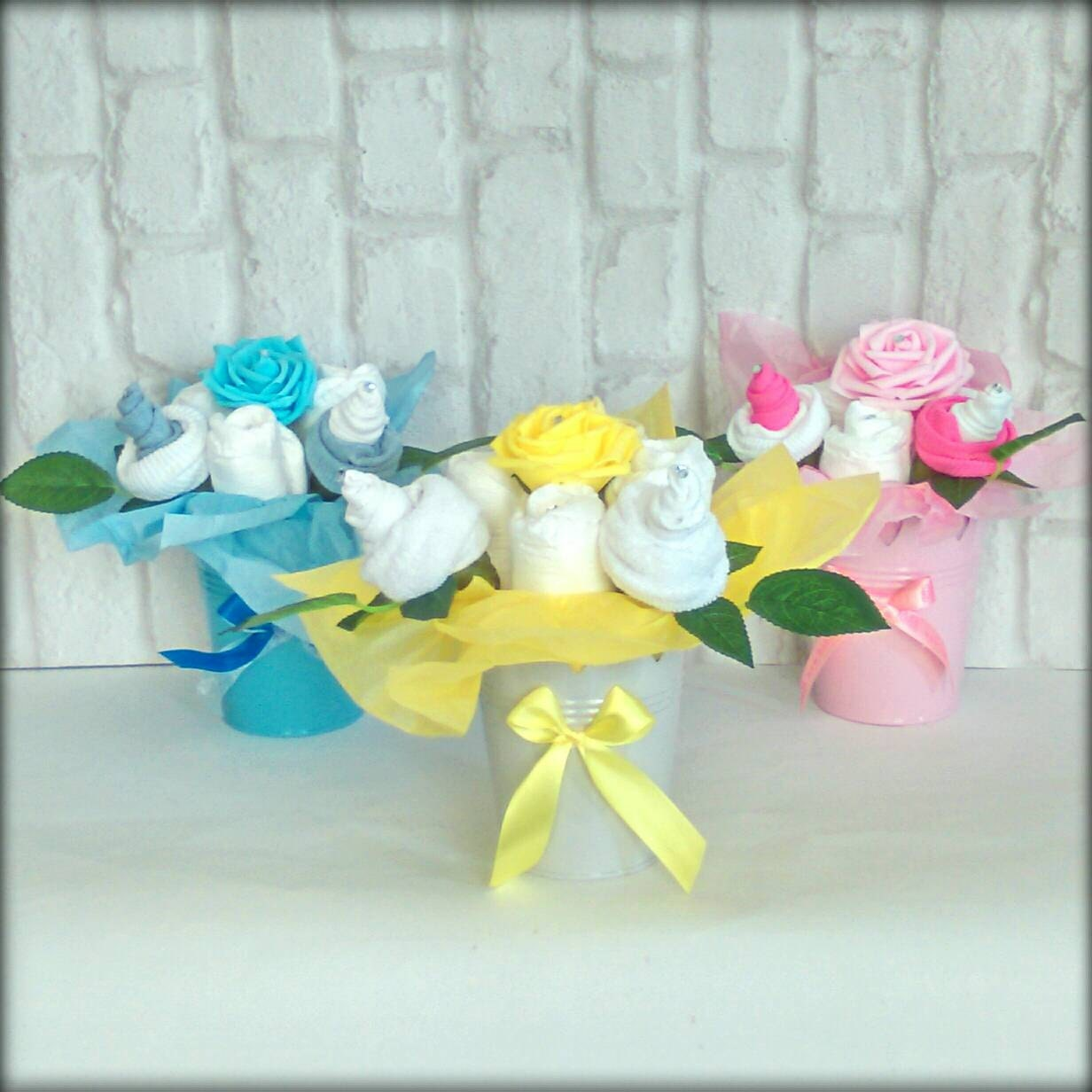 baby shower baby essentials flower pot gift maternity leave