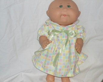 Cabbage Patch premie flannel nightgown