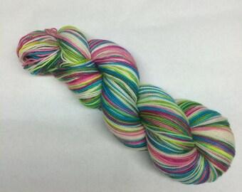 Hand Dyed Sock Yarn - Phooling Around