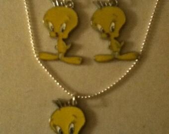 Tweety Bird earrings