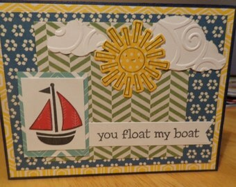 Fun nautical card