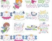 The Tooth Machine Embroidery Designs 4x4 5x7