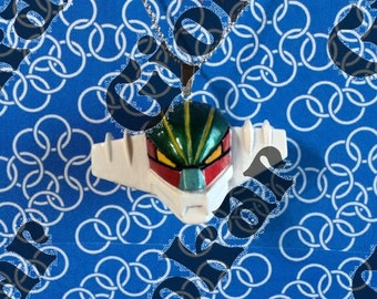 3d jeeg Keychain necklace
