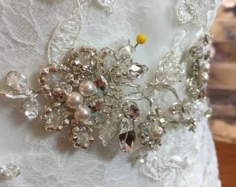 Unique bridal straps/belt