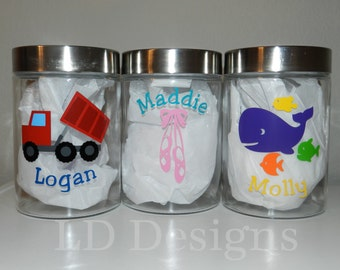 Personalized Treat Jar