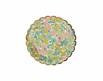 Liberty Floral Plates Small