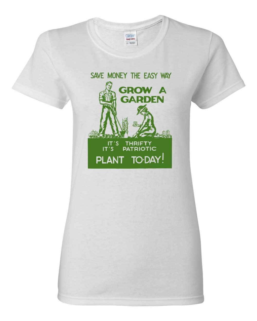 Grow A Garden World War II Poster Womens T-shirt