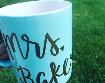 Custom Mrs. Mug
