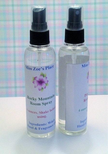 Rocky mountain room spray air freshener bathroom spray for Air freshener for bathroom