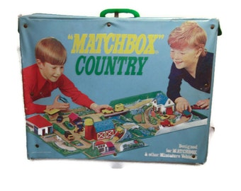 Matchbox Country Playset - 1970's