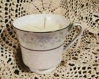 Teacup Handpoured Soy Candle