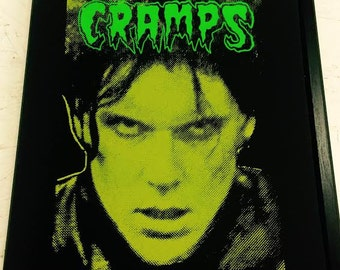 CRAMPS Lux Interior Hand Pulled Screen Print