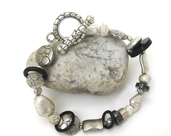 modern industrial bracelet
