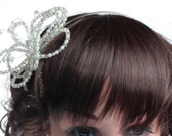 Wedding Hair Comb, Wedding Headband, Bridesmaid Headdress, Flower Girl Headdress, Wedding Headdress