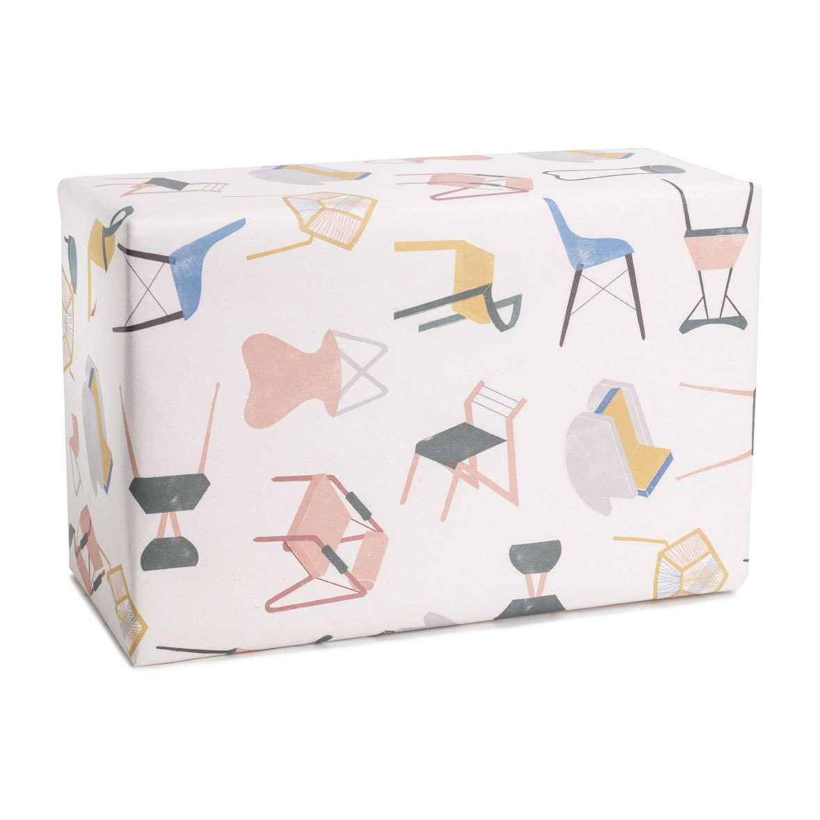 Wrapping paper minimalist style for design lovers for Minimalist gifts for housewarming