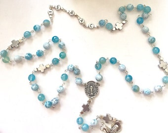 Custom order. Personalized Rosary