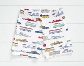 Boy's Organic Jersey Shorts