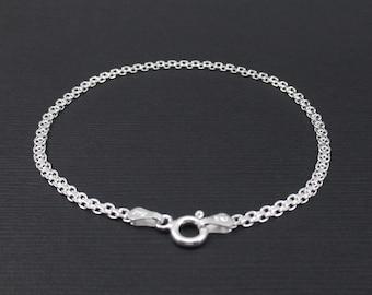 Sterling Silver Bismark Bracelet Bismark Chain Bracelet
