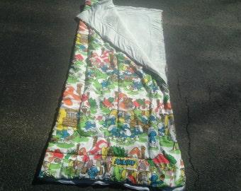 SMURFs Retro Sleeping Bag