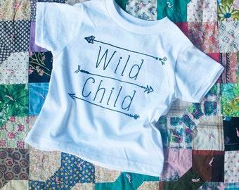 Wild Child | Toddler Tee